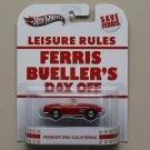 Hot Wheels 2013 Retro Entertainment Ferris Bueller's Day Off Ferrari 250 California