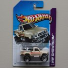 Hot Wheels 2013 HW Showroom 1987 Toyota Pickup Truck (tan)