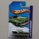 Hot Wheels 2013 HW Showroom '69 Ford Mustang (green)