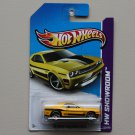 Hot Wheels 2013 HW Showroom '08 Dodge Challenger SRT8 (yellow w/ rare PR5 wheels)