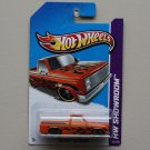 Hot Wheels 2013 HW Showroom '83 Chevy Silverado (orange)