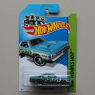 Hot Wheels 2013 HW Workshop '71 Dodge Demon (teal)