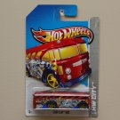 Hot Wheels 2013 HW City Surf's Up Bus (Surfin' School Bus) (red)