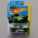 Hot Wheels 2014 HW Off-Road Sandblaster (Ford Raptor) (green)