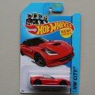 Hot Wheels 2013 HW City '14 Corvette Stingray (red)