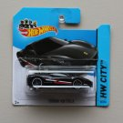 Hot Wheels 2014 HW City Ferrari 458 Italia (black)