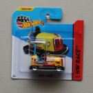 Hot Wheels 2014 HW Race Bump Around (yellow)