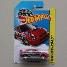 Hot Wheels 2014 HW Off-Road Subaru Impreza WRX (red)
