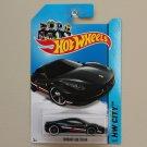 Hot Wheels 2014 HW City Ferrari 458 Italia (black)