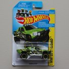 Hot Wheels 2014 HW Off-Road Sandblaster (Ford Raptor) (green)