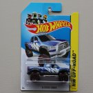 Hot Wheels 2014 HW Off-Road '10 Toyota Tundra (blue)