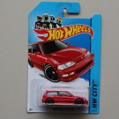 Hot Wheels 2014 HW City 1990 Honda Civic EF (red)