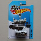 Hot Wheels 2014 HW City Mars Rover Curiosity (white)