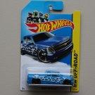Hot Wheels 2014 HW Off-Road Chevy Silverado (blue)