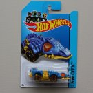 Hot Wheels 2014 HW City Fangster (blue) (Treasure Hunt)