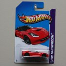 Hot Wheels 2013 HW Showroom '14 Corvette Stingray (red)