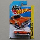Hot Wheels 2014 HW Off-Road Datsun 620 (orange)