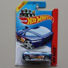 Hot Wheels 2014 HW Race Night Burner (blue) (Treasure Hunt) (See Condition)