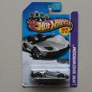 Hot Wheels 2013 HW Showroom Lamborghini Aventador J (ZAMAC silver - Walmart Excl.)