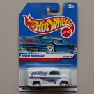 Hot Wheels 1998 First Editions Moo Mobile (Dairy Delivery) (white)