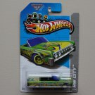Hot Wheels 2013 HW City '64 Lincoln Continental Convertible (green) (Treasure Hunt)