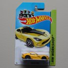 Hot Wheels 2014 HW Workshop 2013 SRT Viper (yellow)