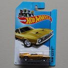 Hot Wheels 2014 HW City 1971 Mustang Mach 1 (gold)