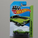 Hot Wheels 2014 HW Workshop '70 Camaro (green)