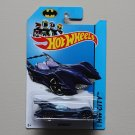 Hot Wheels 2014 HW City Batmobile (navy blue)
