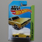 Hot Wheels 2014 HW Workshop 1974 Brazilian Dodge Charger (yellow)