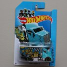 Hot Wheels 2014 HW City Hiway Hauler 2 (turquoise)
