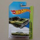 Hot Wheels 2014 HW Workshop '69 Dodge Coronet Super Bee (olive green)