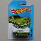 Hot Wheels 2014 HW City '67 Ford Mustang Coupe (green)