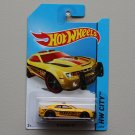 Hot Wheels 2014 HW City '10 Camaro SS (yellow)