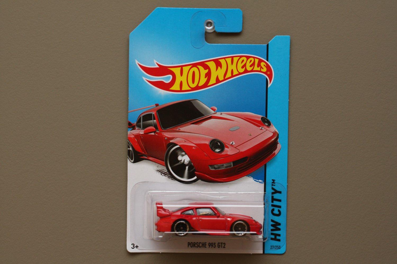 hot wheels 2014 hw city porsche 993 gt2 red. Black Bedroom Furniture Sets. Home Design Ideas