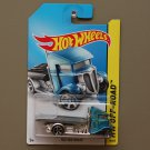 Hot Wheels 2014 HW Off-Road Fast-Bed Hauler (blue)