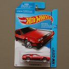 Hot Wheels 2014 HW City '81 Delorean DMC-12 (red)