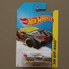 Hot Wheels 2014 HW Off-Road Loop Coupe (silver) (Treasure Hunt)