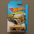 Hot Wheels 2014 HW City Surf Bus (yellow)