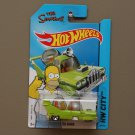 Hot Wheels 2014 HW City The Homer (The Simpsons) (green)