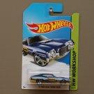 Hot Wheels 2014 HW Workshop '72 Ford Gran Torino Sport (blue)