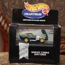 Hot Wheels 1998 Collectibles Shelby Cobra Daytona (green)
