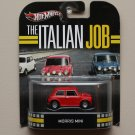 Hot Wheels 2013 Retro Entertainment Morris Mini (The Italian Job) (red)