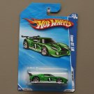 Hot Wheels 2010 HW Racing Ford GT LM (green)