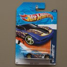 Hot Wheels 2011 Heat Fleet '97 Corvette (blue)