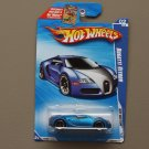 Hot Wheels 2010 Hot Auction Bugatti Veyron (blue)