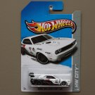 [ASSEMBLY ERROR] Hot Wheels 2013 HW City Dodge Challenger Drift Car (white) (Treasure Hunt)