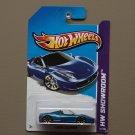 [WHEEL ERROR] Hot Wheels 2013 HW Showroom Ferrari 458 Spider (blue)