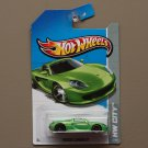 [WHEEL ERROR] Hot Wheels 2013 HW City Porsche Carrera GT (green)