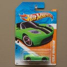 Hot Wheels 2011 Track Stars Tesla Roadster (green)